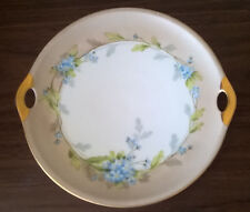 1914~Antique Imperial Crown China Austria Serving Dish~Signed Martin