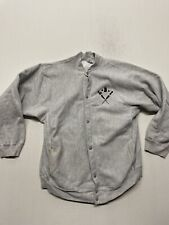 VINTAGE LBI (long Beach Island) Grey Champion Snap UP Large VINTAGE