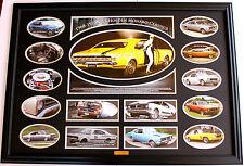 1968 - 1977 GTS Holden Monaro Limited Edition Memorabilia FRAMED