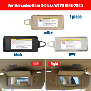 NEW Sun Visor Mirror Frame Cover For Mercedes-Benz S-Class W220 1998-2005