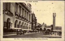 NICE Nizza Provence-Alpes-Côte d'Azur ~1930 Palais Méditerranée Dalmas Rue Auto