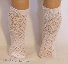 "Diamond Knee-High Socks fit 15 -18"" Doll - American Girl-Kidz n Cats -Bitty Baby"