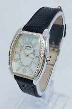 Rialto Ladies 18K White Gold & Diamond with MOP Dial 26 x 38mm Watch