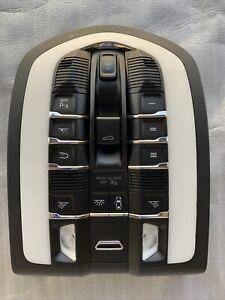 2017 Porsche Cayenne fits roof console map dome light 7PP959551 not a scratch