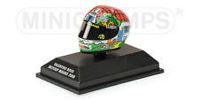1:8 AGV Minichamps Valentino Rossi Helmet Casco Misano Moto GP 2008 NEW