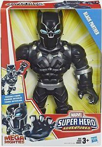 "Marvel Super Hero Adventures Mega Mighties 'Black Panther' Collectible 10""Figure"