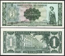 PARAGUAY 1 Guarani L. 1952 UNC P 192