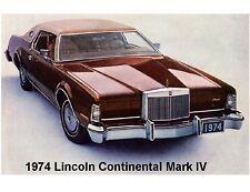 1974  Lincoln Continental  Mark IV  Auto Refrigerator / Tool Box  Magnet
