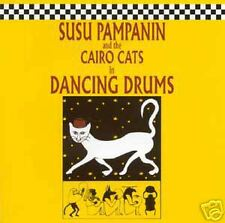 Susu & the Cairo Cats - Dancing Drums Susu Pampanin CD
