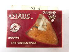Vintage NOS Astatic N51-D Genuine Diamond Phonograph Stylus Needle