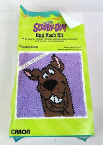 "Cartoon Network Scooby Doo Rug Hook Kit 12"" x 12"" Caron LR0013 New Open Box"