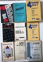 Atari Computer Gaming Ephemera Manuals & Floppy Disk LOT