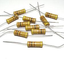 10x DRALORIC strato di carbone resistenza 100 Ohm, LCA 0922, 2w, for tube AMPS, NOS