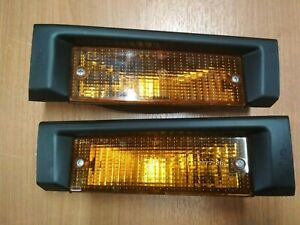 BMW E30 turn signal lights L+R Euro !NEW! GENUINE  63131372683 63131372684