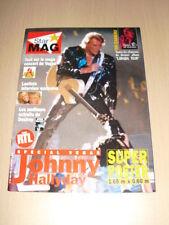 JOHNNY HALLYDAY Star mag + poster 1,65 m x 0,60 m