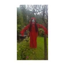 Nuevo Rojo Encantado Mujer Colgante Fiesta Halloween Decoración 112cm