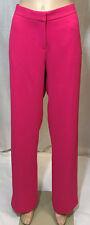 Rachel Roy Straight Leg Pants Hibiscus Sz. 10 NWT $298