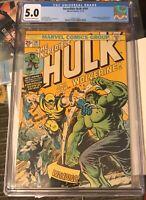 The Incredible Hulk #181 CGC 5.0