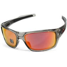 d3c13171c6d Oakley Turbine OO9263-10 Grey Ink Ruby Iridium Polarised Men s Sport  Sunglasses