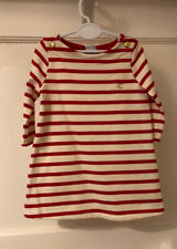 Petit Bateau 6m Raspberry Breton Dress - BNWT