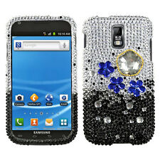 T-MOBILE SAMSUNG GALAXY S2 T989 RHINESTONE HARD CASE CLOUDY NIGHT