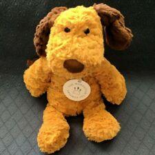 New MANHATTAN TOY COMPANY Duffy Dog Plush Puppy Brown Stuffed Animal NWT