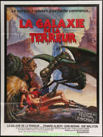 GALAXY OF TERROR Movie Poster French One Panel Size 47x63 Inches CHARO Artwork