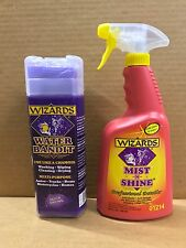 Wizards Mist-N-Shine Professional Detailer Spray and Water Bandit Chamois Cloth