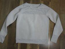 Athleta 243058 Women's Gray Scuba Neoprene Pullover Sweater Sz M