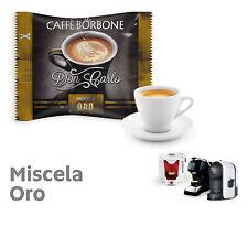 ORO (Gold) Blend 100 Don Carlo coffee capsules compatibile with A Modo Mio by Bo