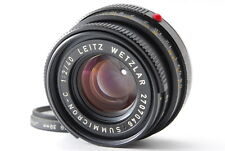 【NEAR MINT+++】Leica Leitz Wetzlar Summicron-C 40mm f/2 Lens From Japan #765