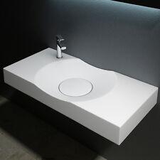 Eckige Aufsatzwaschbecken Gussmarmor mineralguss waschbecken Waschtisch Col15L