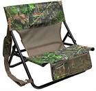 Turkey Hunting Chair Seat Mossy Oak More Comfort Camo Folding Gift New