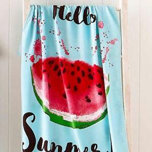 Catherine Lansfield Watermelon Beach Bath Towel - 76 X 160cm