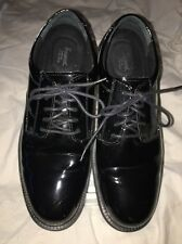 Thorngood Mens Tuxedo Formal Dress Shoes Black Patent Leather Oxfords Size 11.5W