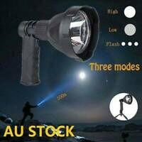 Newest LED Handheld Camping Spotlight Rechargeable Torch Hunting Spot Light