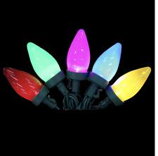 2 Boxes EcoSmart 25-Light Led Multi-Color C9 Ceramic Light Set New Free Shipp