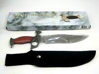 "New Sante Trail Bowie Stainless Steel Hunting Blade 14 1/2"" Nylon Cordura Sheath"