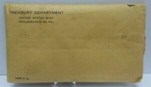 1955 US Proof Set - Original Brown Envelope - United States Treasury Dept. G303