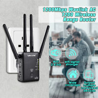 Wavlink AC1200 Dual Band Wifi Repeater Router 2.4G& 5G Wireless-N Range Extender