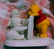 """Dept 56 Snowbabies 2005 """"Reading is Fun with Pooh"""""""