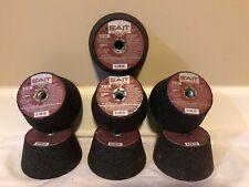 Lot Of 7- United Abrasives-Sait 26000 Cup Wheel,4x2x5/8-11,A16