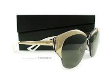 New Dior Sunglasses Mirrored I206J Rose Gold Palladium Authentic