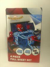 Marvel Spider-Man Homecoming 4 Piece Full Sheet Set Brand New