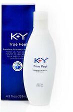 K-Y True Feel, Premium Silicone Lubricant 4.5 oz
