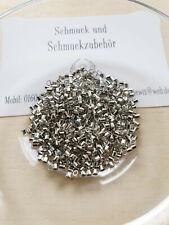 Großlochperlen Perlen Zylinder Straß Messing 8x7 mm *Top Qualität* 1Stück