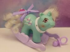My Little Pony Vintage G1 Newborn Baby Wiggles with MLP Rocker~ Excellent!
