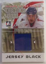 2011-2012 ITG Canada vs The World jersey black Zigmund Palffy