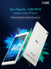 Cube WP10 6.98'' 4G Phablet Tablet PC Windows 10 Mobile 64bit 1.3GHz 2+16GB GPS