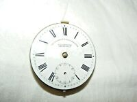 ANTIQUE J G GRAVES THE 'EXPRESS' ENGLISH LEVER POCKET WATCH FACE & MECHANISM
